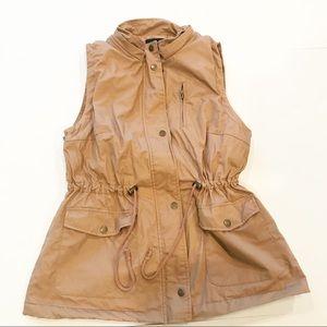 Love Tree Sherpa Fleece Lined Vest